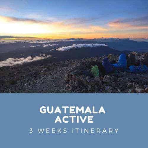 Active Guatemala Itinerary