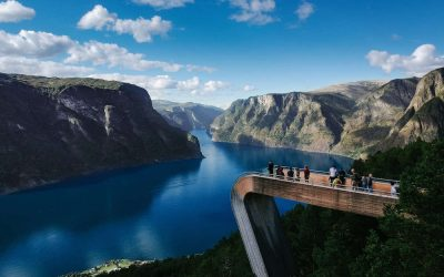 Stegastein - Norway - Interrail Scandinavia - Best of the North - 2 weeks in Scandinavia