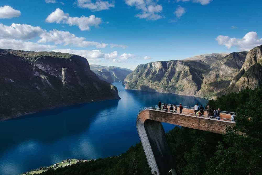 Stegastein - Norway - Interrail Scandinavia - Best of the North - 2 weeks in Scandinavia