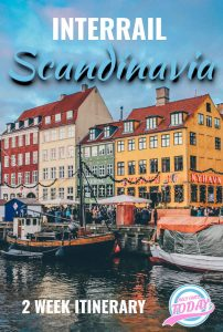 Interrail Scandinavia Itinerary