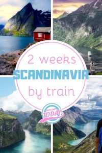 Scandinavia by train in 2 weeks