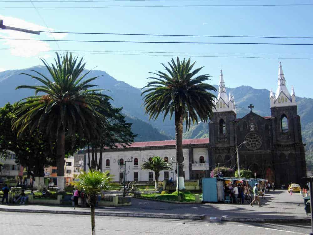Banos square - Ecuador