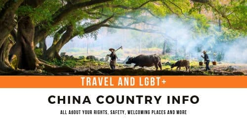 China LGBT country info