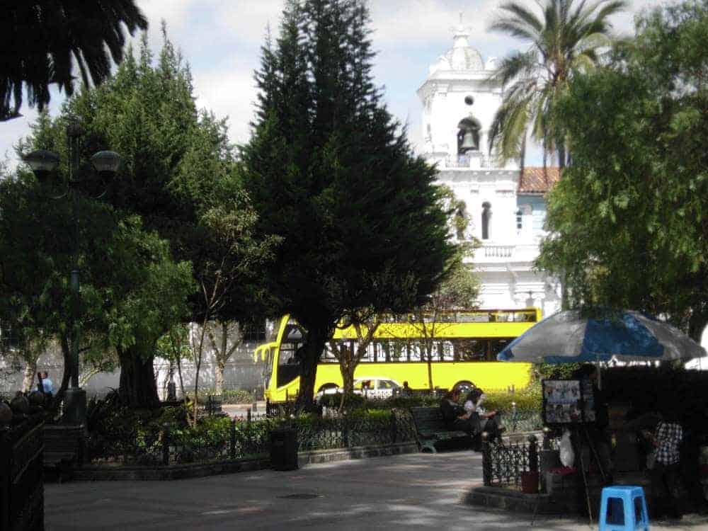 Cuenca square - Ecuador