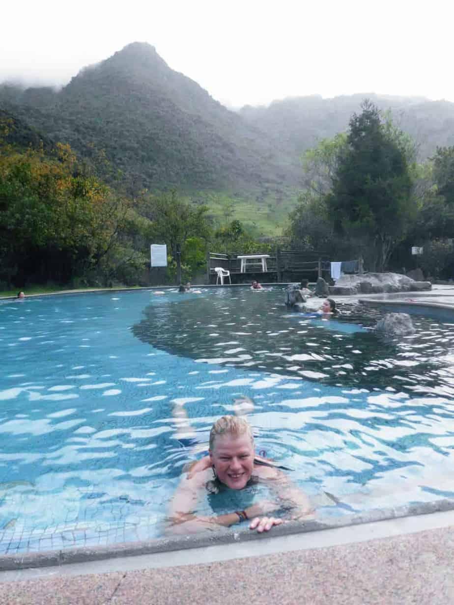 Papallacta pool - Ecuador