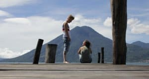 Pasaj Cap Lake Atitlan Guatemala