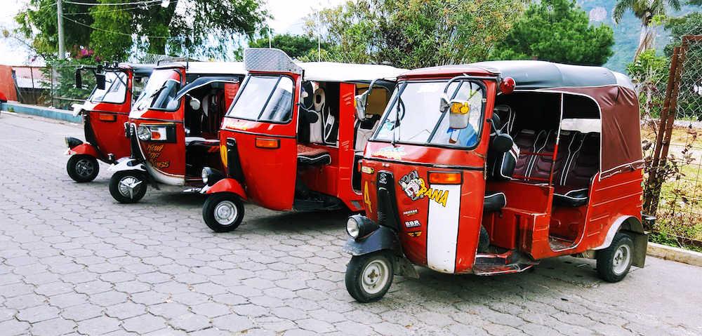 Tuc Tucs in Guatemala