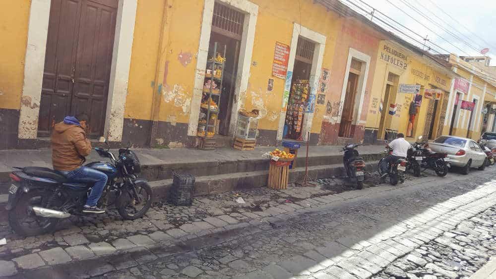 Xela Guatemala street view