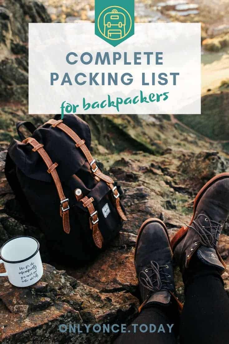 Complete Packing List Download