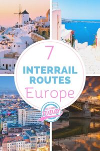 7 interrail routes for Europe