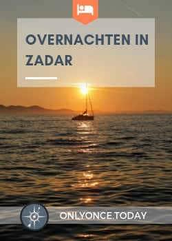 Overnachten in Zadar - Kroatië