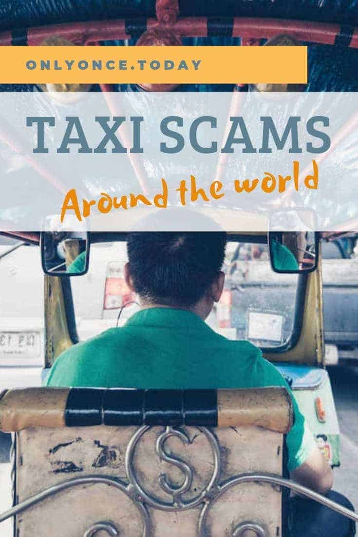 Taxi scams around the world