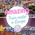 7 amazing train routes in Europe