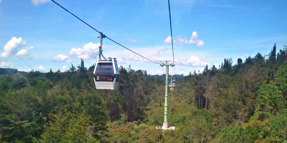 Parque Arvi Cable Lift