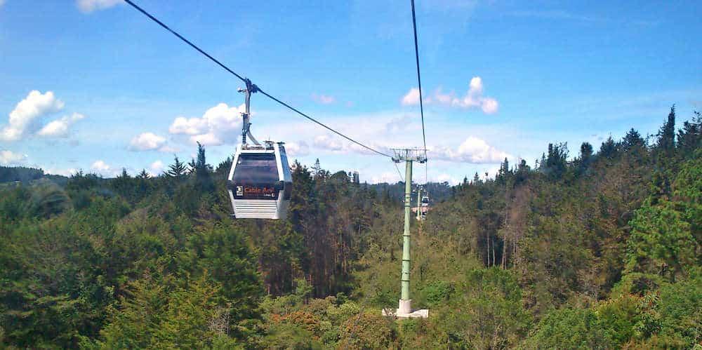 Parque Arvi Cable Lift