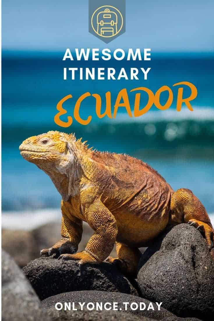 Itinerary Ecuador
