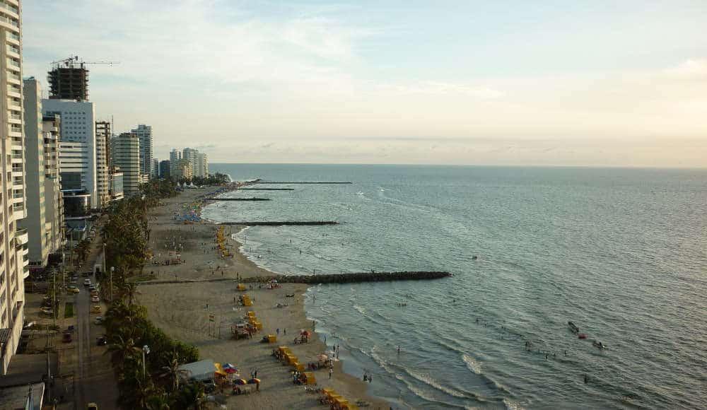 Boca Grande Beach Cartagena