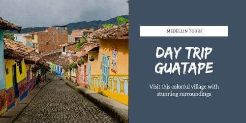 Medellin guatape day trip