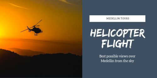 Medellin helicopter flight