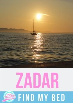 Zadar find my bed