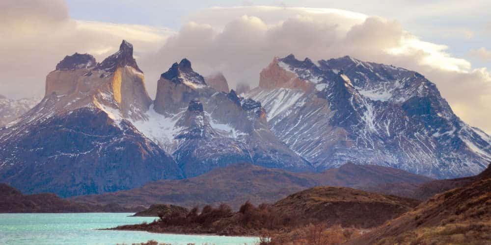 Torres del Paine from El Calafate