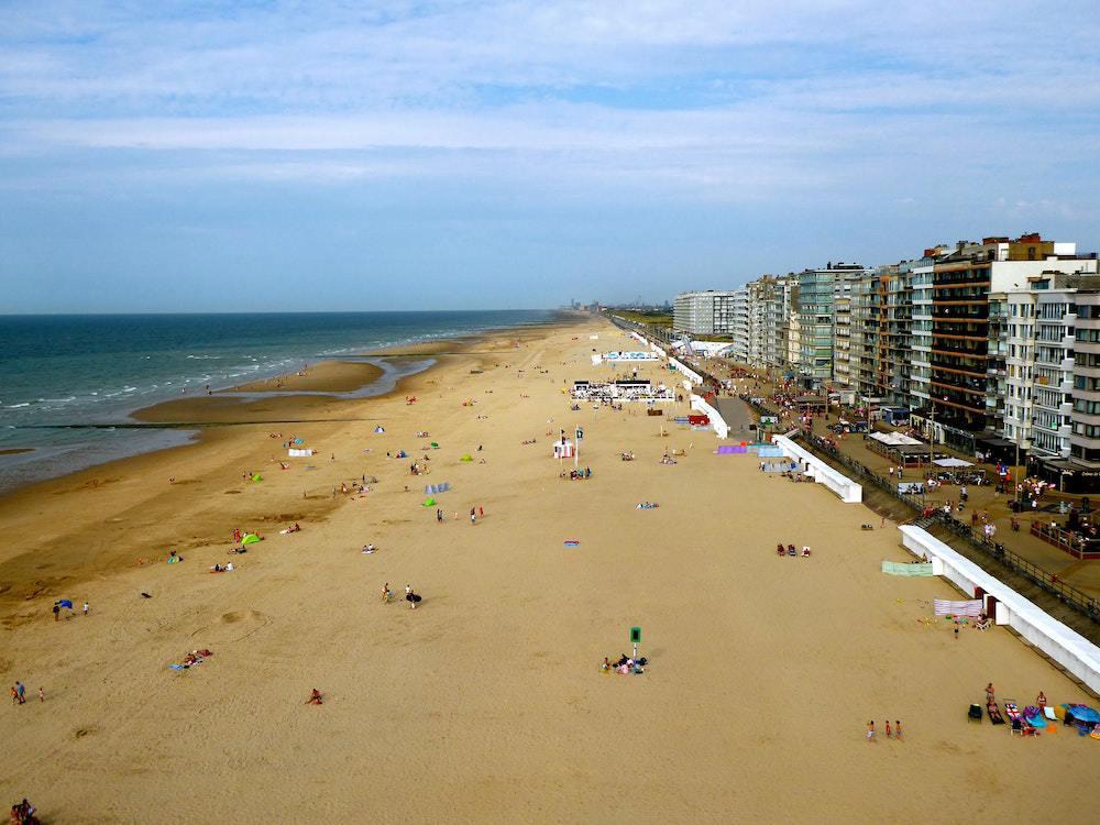 Middelkerke beach
