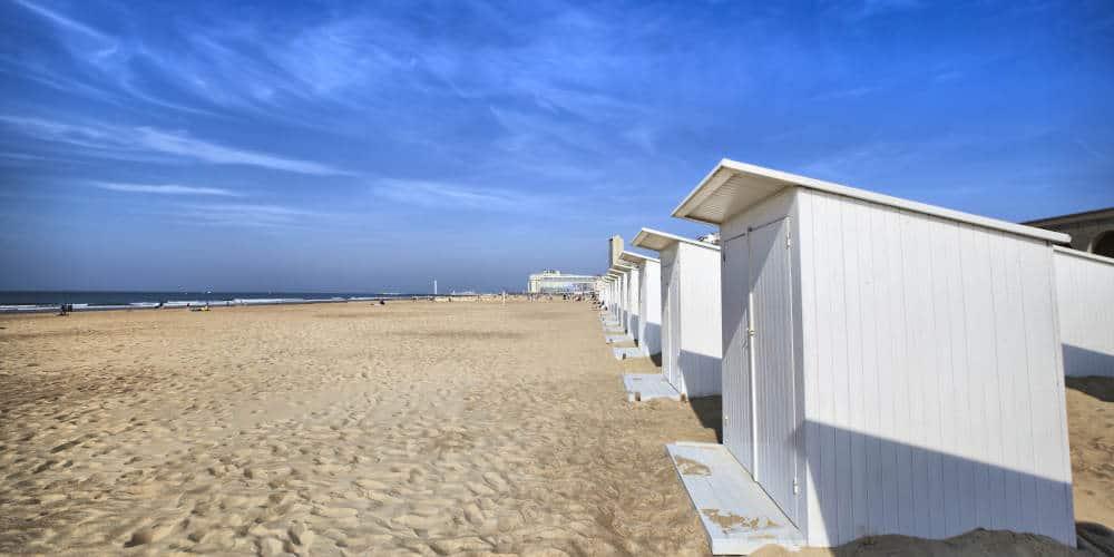 Oostende Beach Belgium