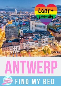 Find LGBT friendly accommodation in Antwerp