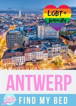 Find LGBT friendly accommodation in Antwerp