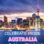 Pride events Australia and New Zealand