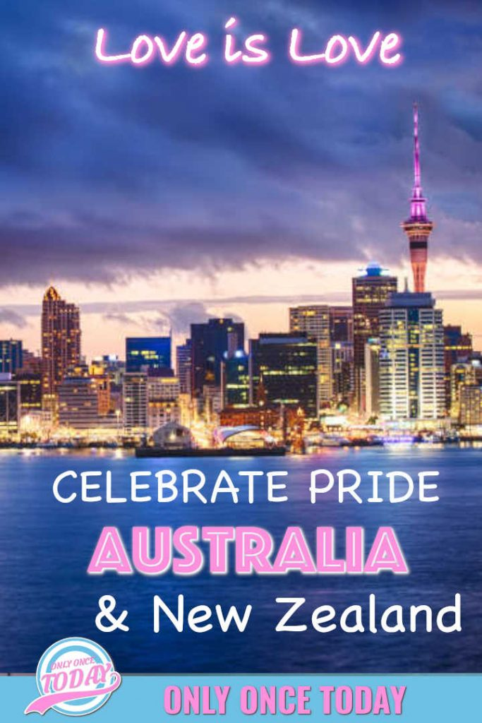 Pride events Australia and New Zealand