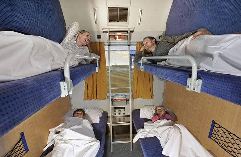 Couchette - Foto door Deutsche Bahn