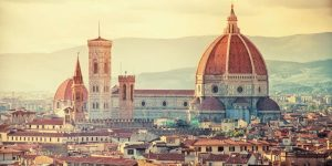 Florence, guided train tours Europe