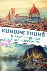 Guided train tours Europe