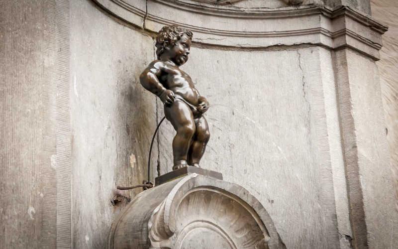 Manneke Pis in Brussels