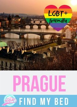 Find LGBT friendly accommodation in Prague