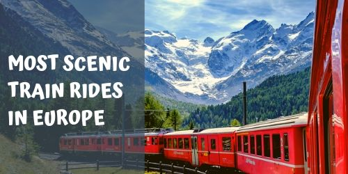 Most scenic train rides in Europe