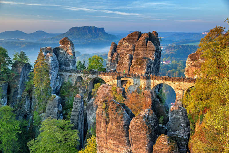 Bastei bridge - Switzerland