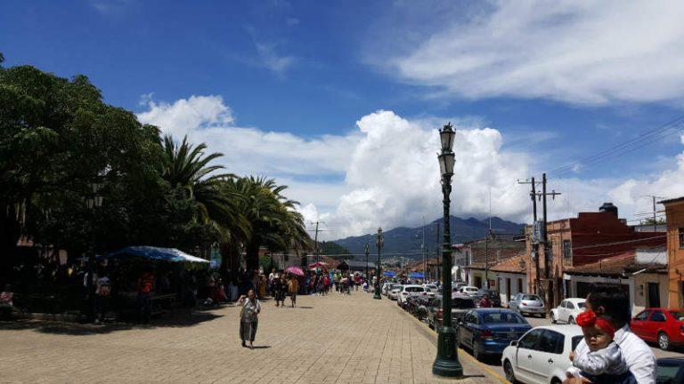 San Cristobal city view
