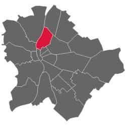 Budapest District 13 Újlipótváros and Angyalföld