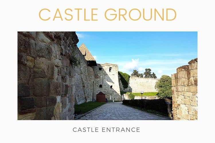 Castle of Eger entrance
