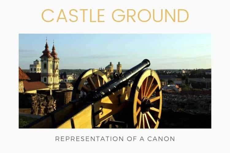 Castle of Eger - Castle canon