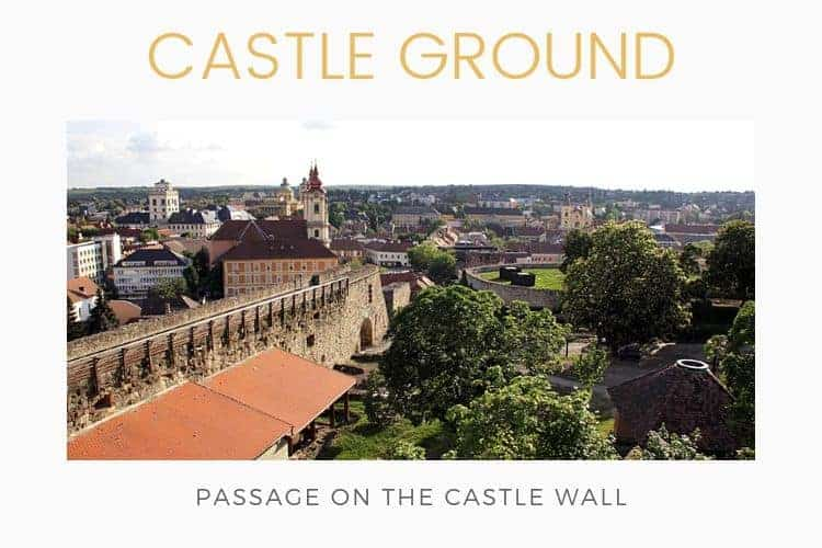 Castle of Eger - city view