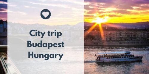 City trip Budapest