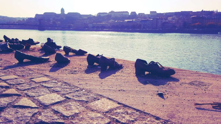 Shoes on the Danube memorial