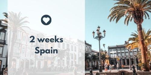 Spain in 2 weeks