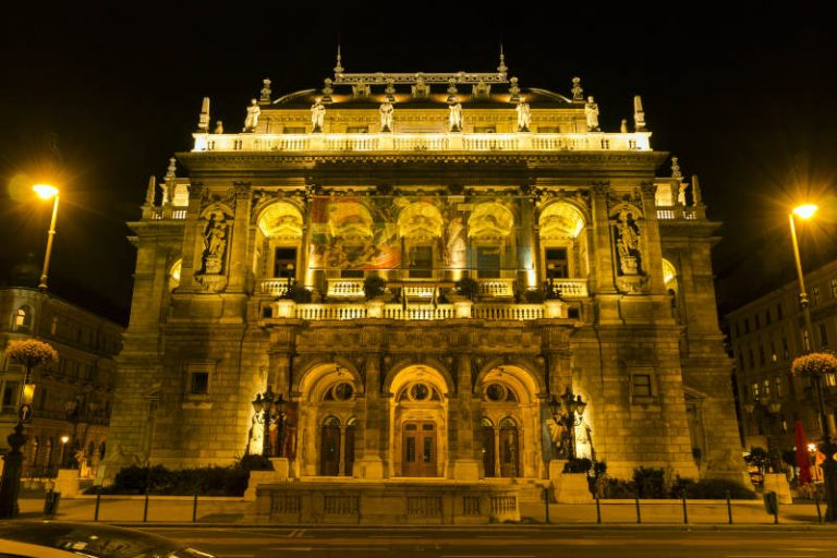 Hungarian State Opera House in District 6