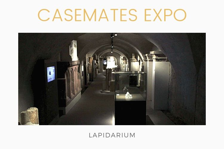 Casemates expo castle of Eger