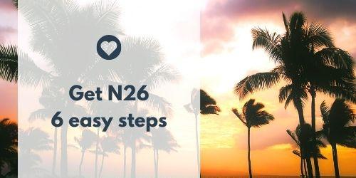 Get N26 card
