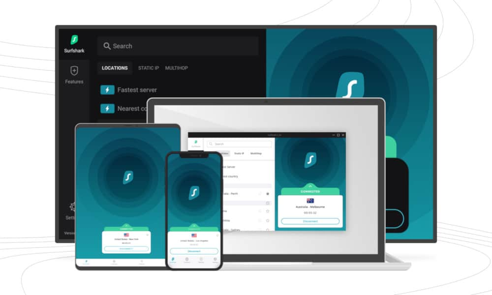 Surfshark VPN Europe